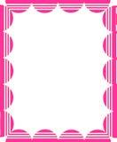 框架粉红色 免版税图库摄影