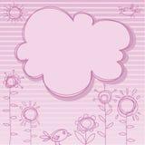 框架粉红色 图库摄影