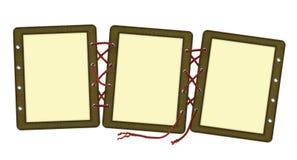 框架系带照片三 免版税库存照片