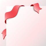 框架红色数据条 向量例证