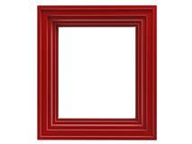 框架红色 免版税库存照片