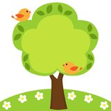 框架结构树 图库摄影