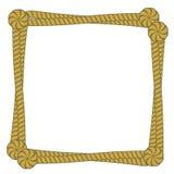 框架绳索向量 库存照片