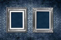 框架维多利亚女王时代的著名人物墙纸 免版税库存照片