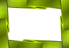 框架绿色照片 免版税库存图片