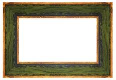 框架绿色葡萄酒 库存图片