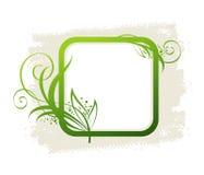 框架绿色 库存图片