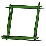 框架绿色 图库摄影