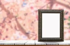 框架老照片 免版税库存图片