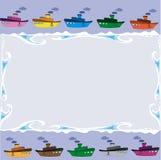 框架船 免版税库存图片