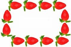 框架草莓 库存图片