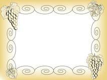 框架葡萄 库存图片