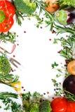 框架蔬菜 免版税图库摄影