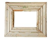 框架被风化的木 库存图片
