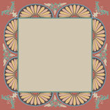 框架装饰元素装饰物样式 免版税库存照片