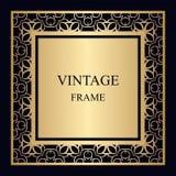 框架装饰物葡萄酒 库存照片