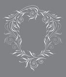 框架装饰物葡萄酒 免版税库存照片