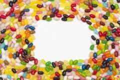 框架豆形软糖 库存照片