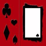 框架赌客s 免版税库存图片