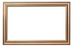 框架金子查出的图象白色 库存图片