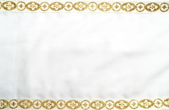 框架金子 免版税库存照片