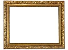 框架金子 免版税库存图片
