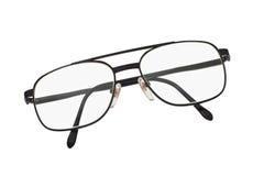 框架金属眼镜 图库摄影