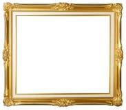 框架金照片葡萄酒 库存图片