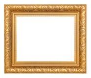 框架金照片 免版税库存图片