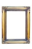 框架金黄照片 免版税图库摄影