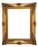 框架金黄例证向量维多利亚女王时代的著名人物 图库摄影
