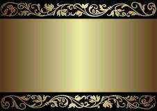 框架银色葡萄酒 库存例证