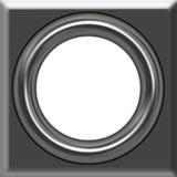 框架银 向量例证