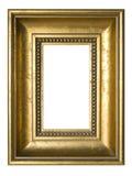 框架镀金了照片 免版税库存照片