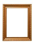 框架镀金面 库存照片