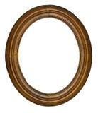 框架长圆形葡萄酒 库存照片
