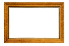 框架长方形墙帷或镜子 免版税库存照片