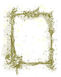 框架黑金刚石 图库摄影