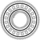 绳索框架 免版税库存照片