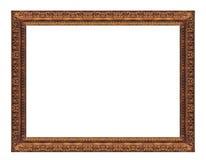 框架gloden 库存照片