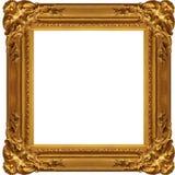 框架gloden 图库摄影