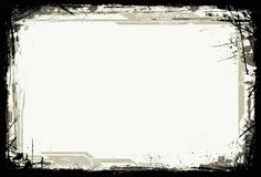 框架grunge向量 免版税图库摄影