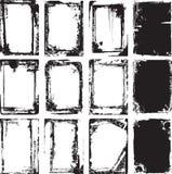框架grunge向量 库存照片