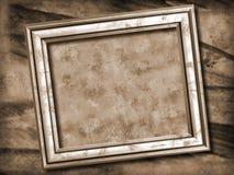 框架grunge照片 库存照片