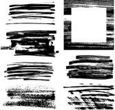 框架grunge iii 向量例证