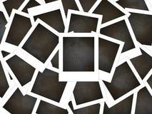 框架poloroid 免版税库存图片