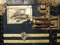 案件标签贴纸旅行葡萄酒 免版税图库摄影