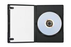 案件计算机盘空的纸张 免版税库存图片