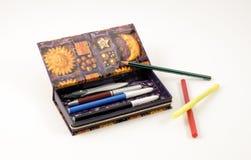 案件铅笔 免版税图库摄影