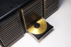 案件cd dvd 库存图片